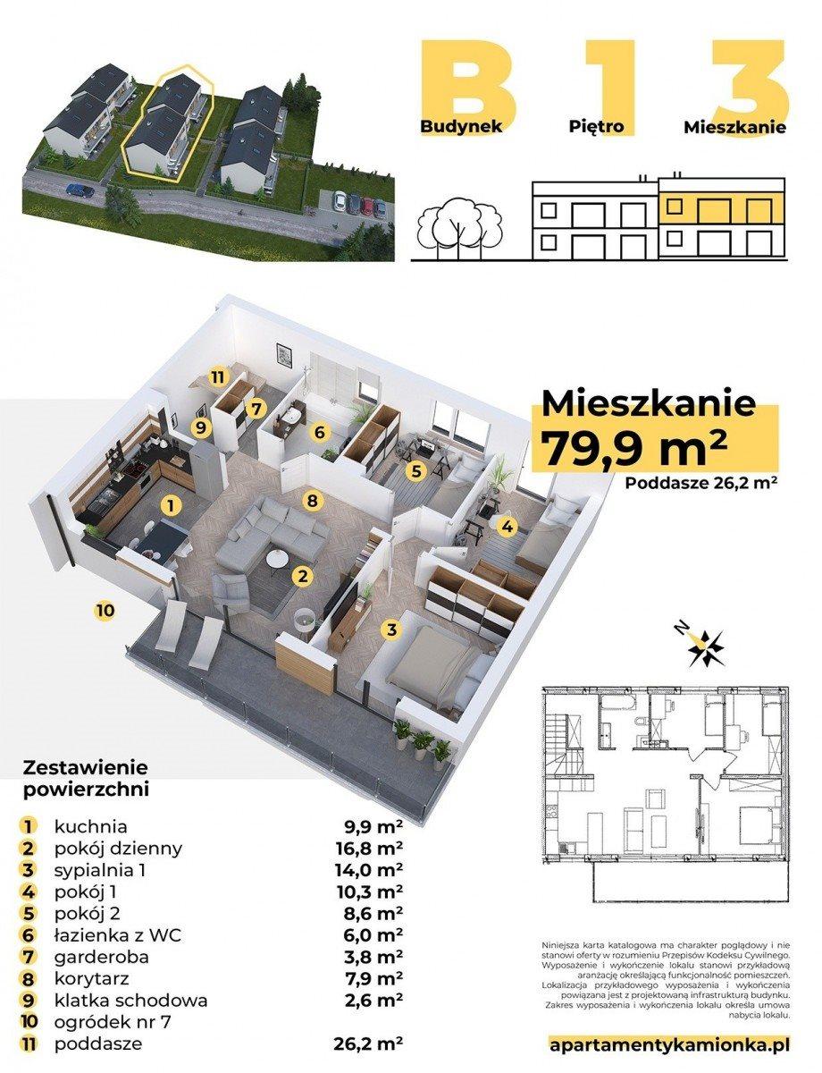 Mieszkanie czteropokojowe  na sprzedaż Mikołów, Poprzeczna  116m2 Foto 2