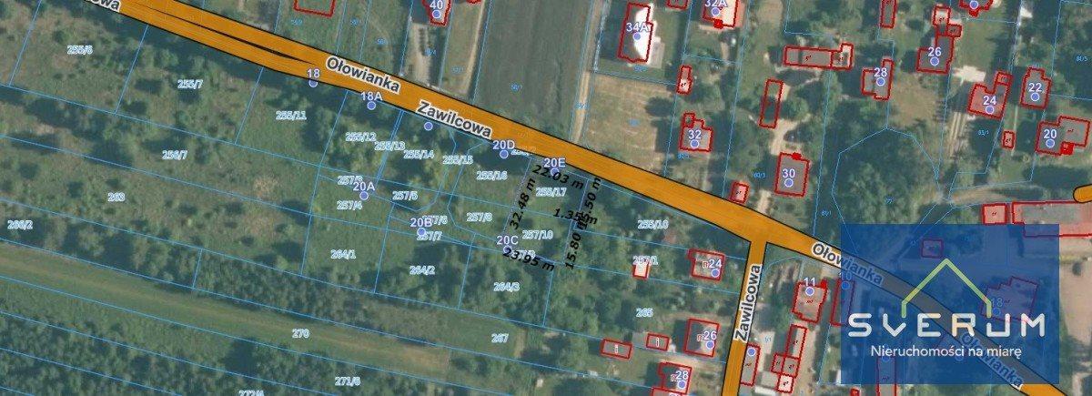 Działka budowlana na sprzedaż Częstochowa, Wyczerpy Górne, Zawilcowa  732m2 Foto 4
