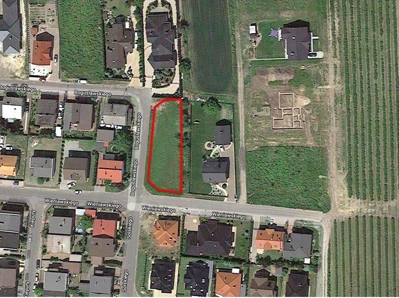 Działka budowlana na sprzedaż Pleszew  762m2 Foto 1