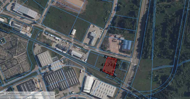 Działka komercyjna na sprzedaż Ełk, przemysłowa  4880m2 Foto 4