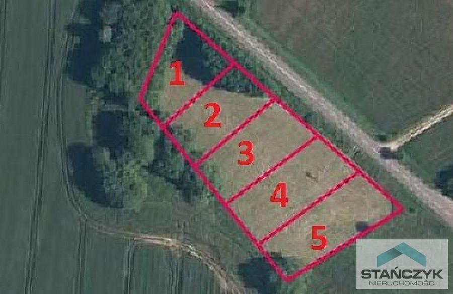 Działka budowlana na sprzedaż Parłówko, lasy, łąki  1000m2 Foto 2