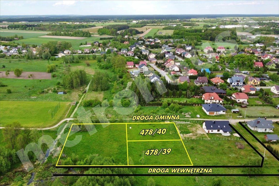 Działka budowlana na sprzedaż Komorowo, Ostrów Mazowiecka  1372m2 Foto 4