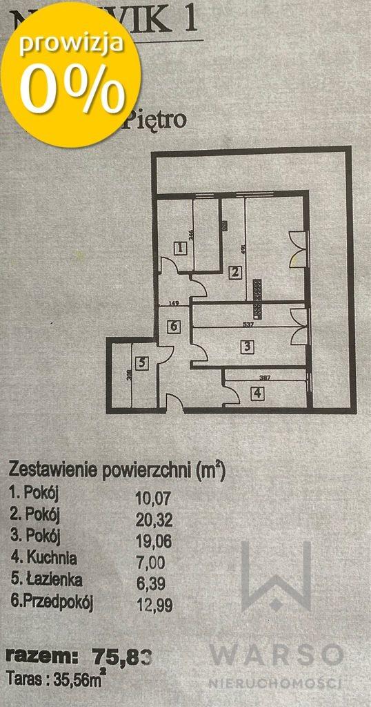Mieszkanie trzypokojowe na sprzedaż Warszawa, Bemowo, płk. Witolda Łokuciewskiego  75m2 Foto 6