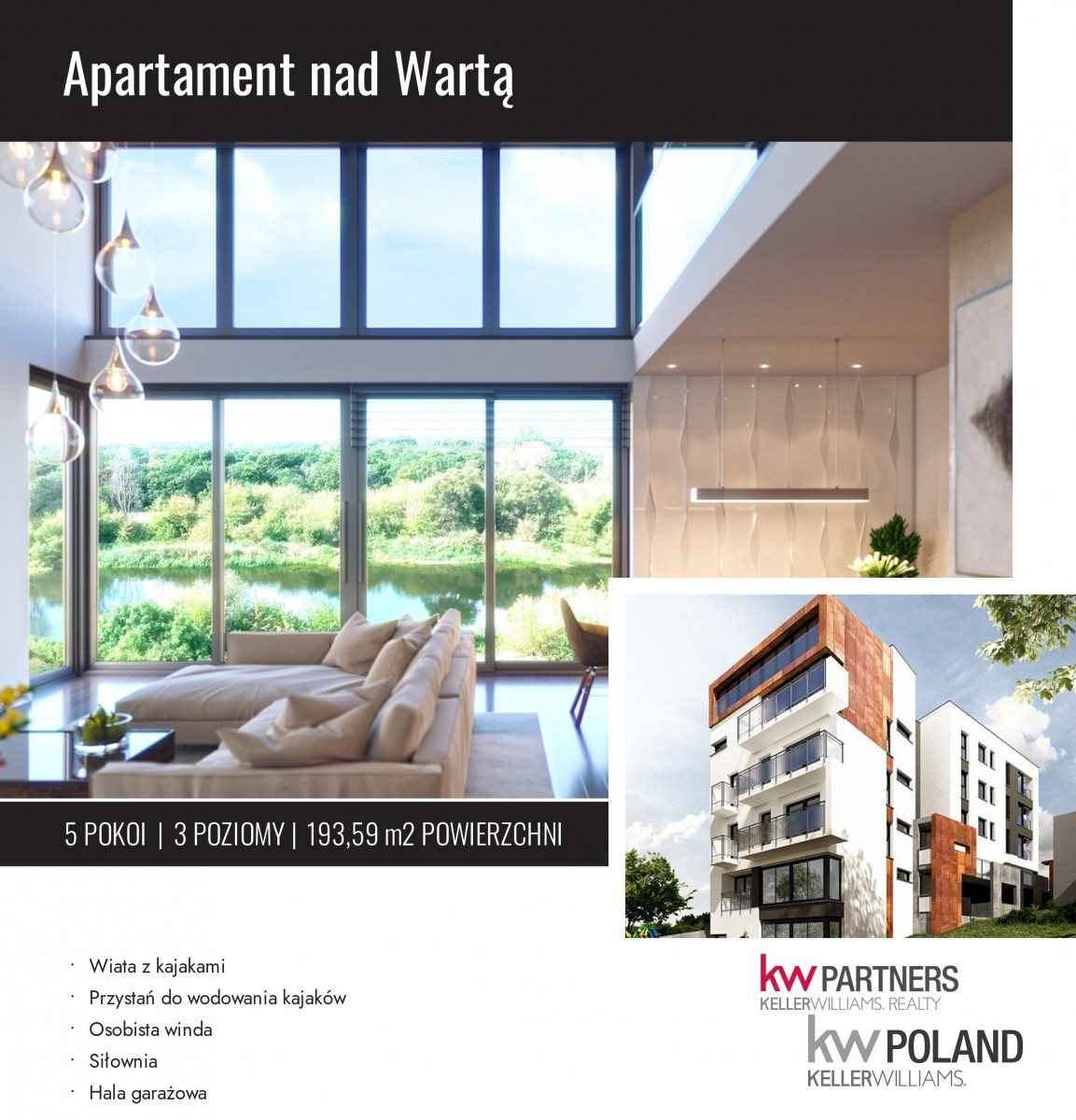 Mieszkanie na sprzedaż Poznań, Starołęka, Orląt  194m2 Foto 1