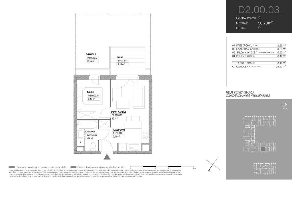 Mieszkanie dwupokojowe na sprzedaż Warszawa, Białołęka, Klasyków  31m2 Foto 6