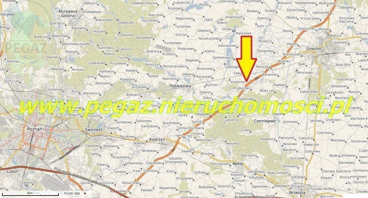 Działka budowlana na sprzedaż Chwałkówko, , Poznań, Gniezno, Poznań Gniezno  1688m2 Foto 1