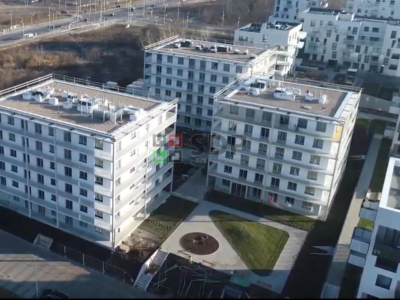 Mieszkanie dwupokojowe na sprzedaż Wrocław, Fabryczna, Żerniki, Lauterbacha Henricha  39m2 Foto 2