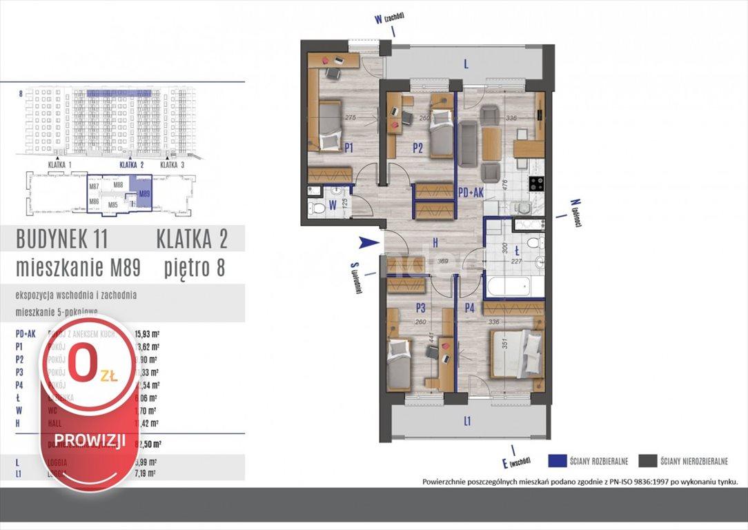 Mieszkanie na sprzedaż Rzeszów, bł. Karoliny  83m2 Foto 4