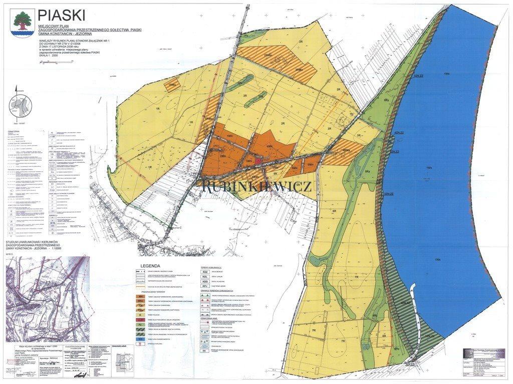 Działka rolna na sprzedaż Konstancin-Jeziorna  3700m2 Foto 2