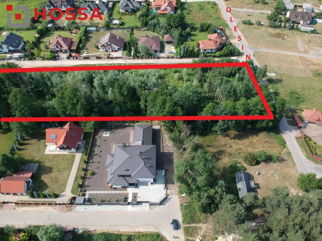 Działka budowlana na sprzedaż Warszawa, Białołęka Kobiałka, Olesin  31437m2 Foto 4