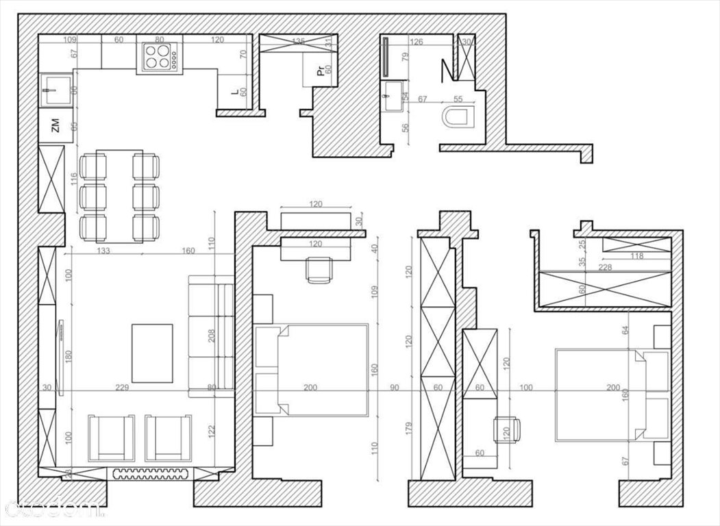 Mieszkanie trzypokojowe na sprzedaż Warszawa, Śródmieście, Andersa  69m2 Foto 7