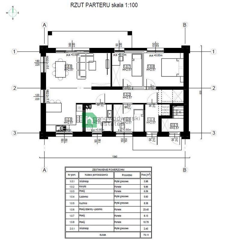 Mieszkanie na sprzedaż Jasień, Nowy Świat  81m2 Foto 8