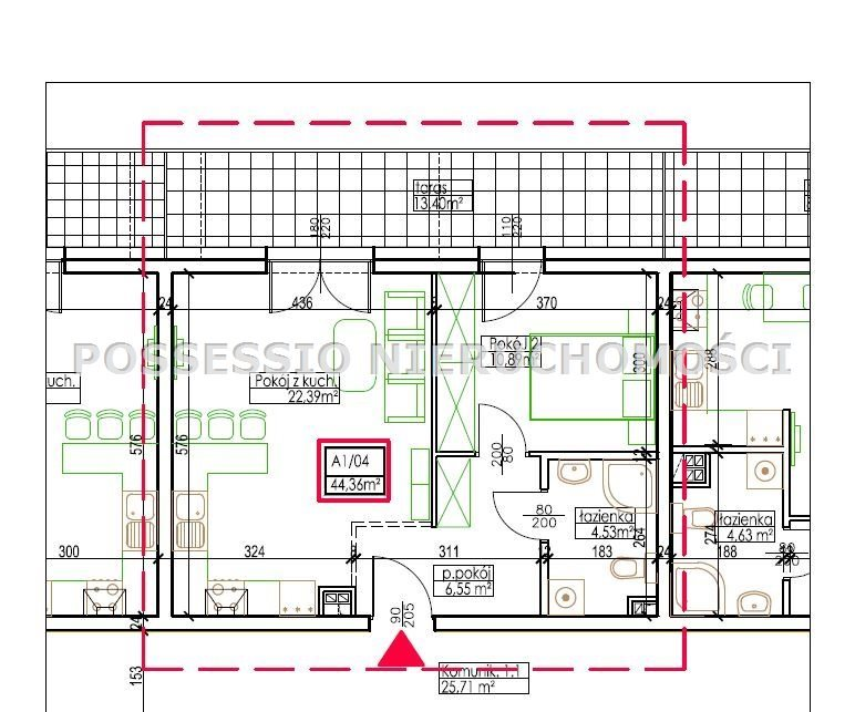Mieszkanie na sprzedaż Strzegom  28m2 Foto 8
