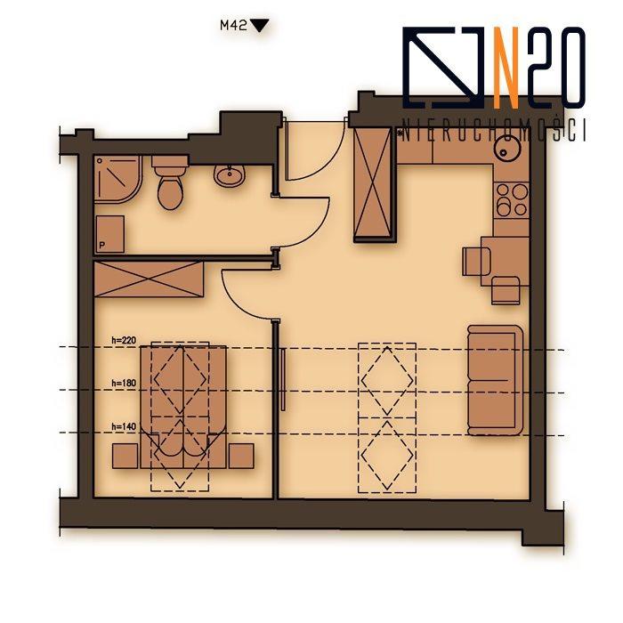 Mieszkanie dwupokojowe na sprzedaż Kraków, Podgórze, Stare Podgórze  29m2 Foto 4