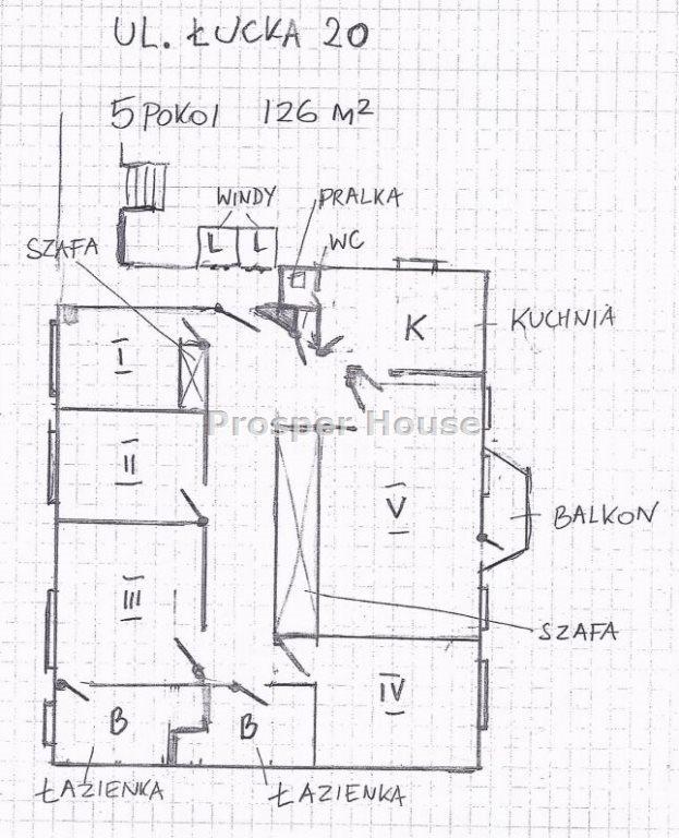 Mieszkanie na sprzedaż Warszawa, Wola, Mirów, Łucka  126m2 Foto 5