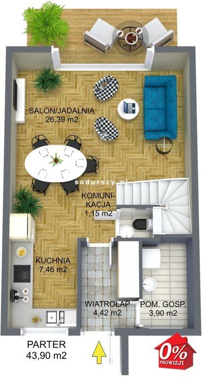 Dom na sprzedaż Wielka Wieś, Modlnica, Modlnica, Graniczna - okolice  86m2 Foto 2