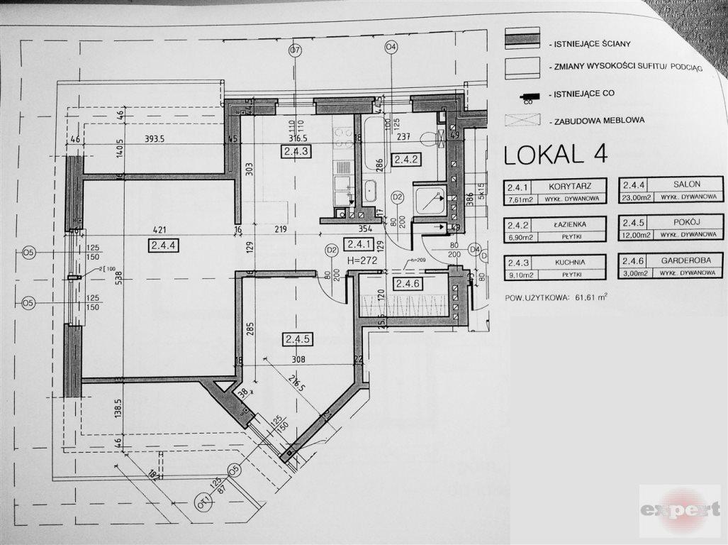 Mieszkanie dwupokojowe na sprzedaż Łódź, Bałuty, Arturówek  62m2 Foto 2