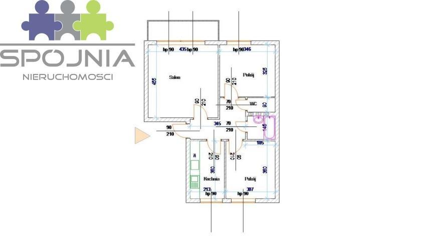 Mieszkanie trzypokojowe na sprzedaż Warszawa, Wola, Ulrychów, Okocimska  61m2 Foto 3
