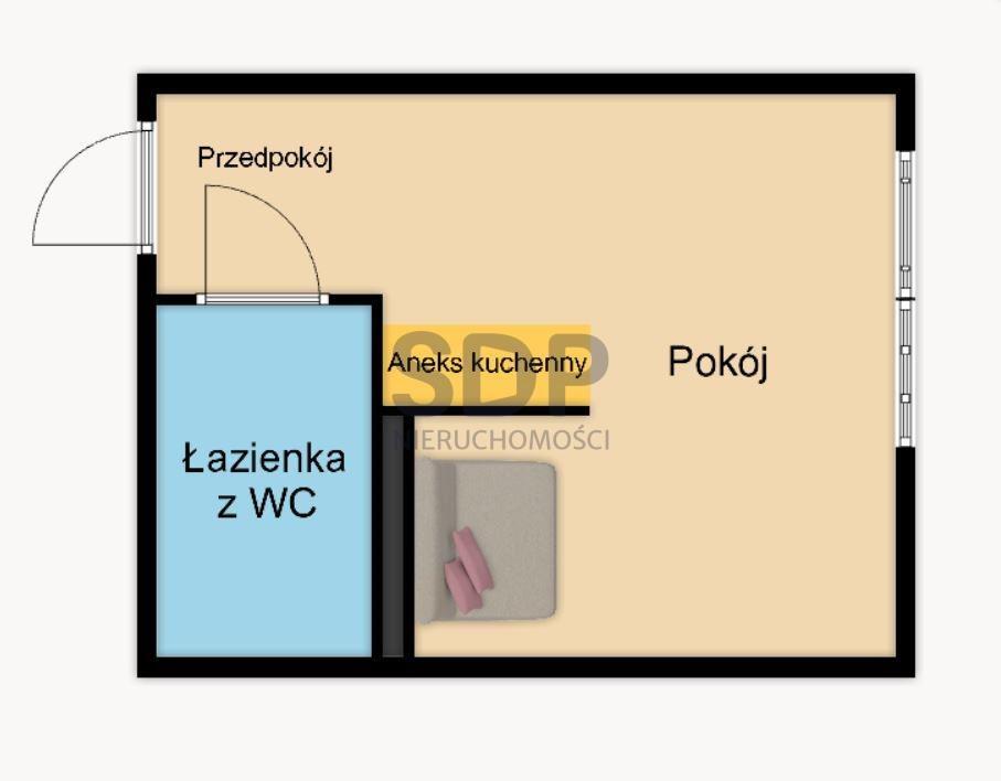 Lokal użytkowy na sprzedaż Wrocław, Stare Miasto, Szczepin, Strzegomska  25m2 Foto 2