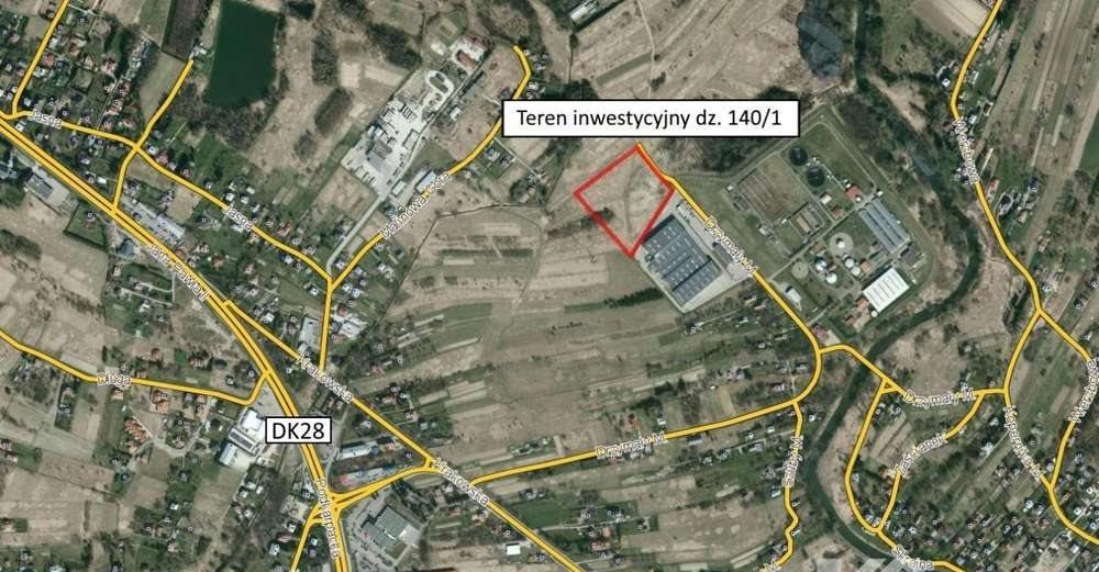 Działka inwestycyjna na sprzedaż Krosno  17528m2 Foto 1
