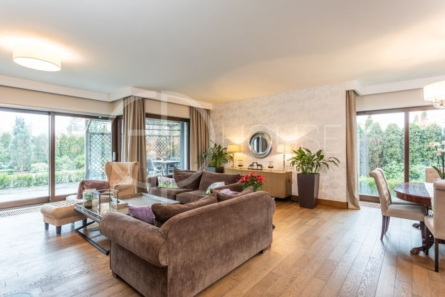Luksusowy dom na sprzedaż Warszawa, Wilanów, Powsin, Powsinek  380m2 Foto 1