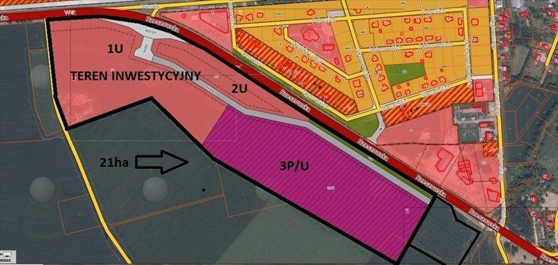 Działka przemysłowo-handlowa na sprzedaż Sędziszów Małopolski, Rzeszowska  3000m2 Foto 1