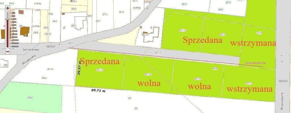 Działka budowlana na sprzedaż Strzegomiany, Letniskowa  2000m2 Foto 2