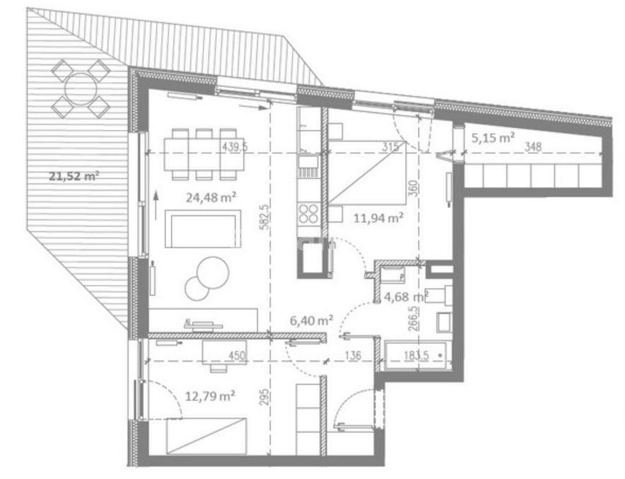 Mieszkanie trzypokojowe na sprzedaż Poznań, Sołacz, Michała Drzymały  65m2 Foto 3