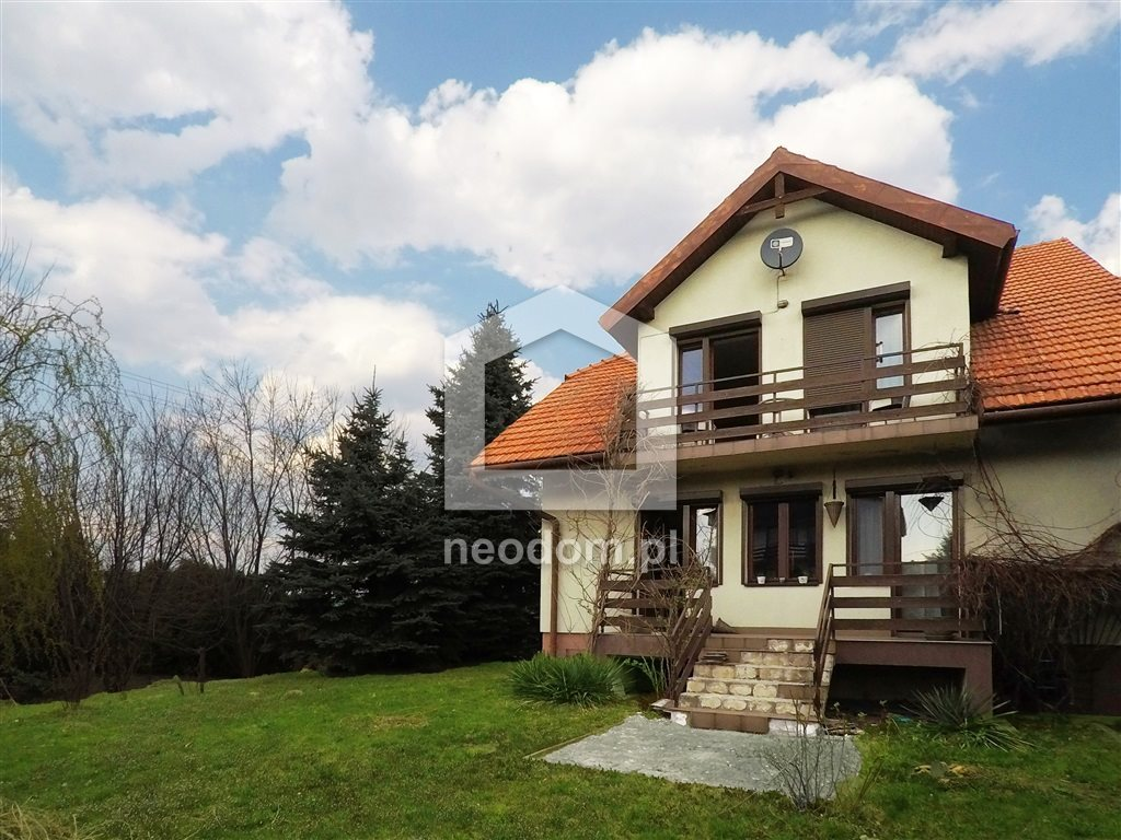 Dom na sprzedaż Mogilany, Libertów  210m2 Foto 1
