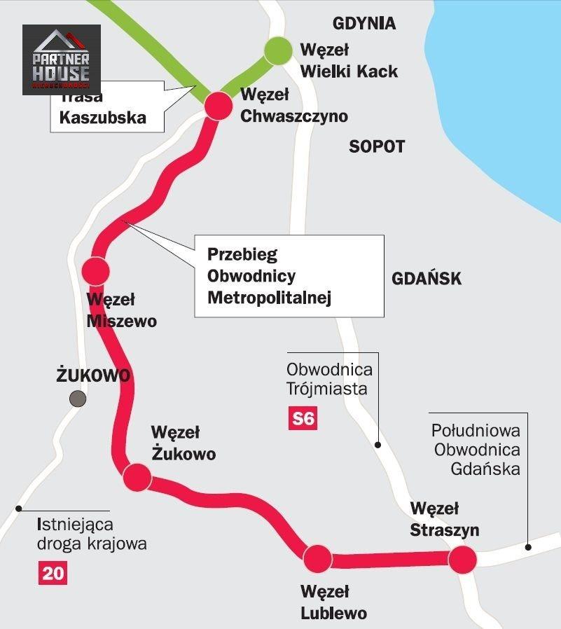 Działka inwestycyjna na sprzedaż Lublewo Gdańskie  3205m2 Foto 10