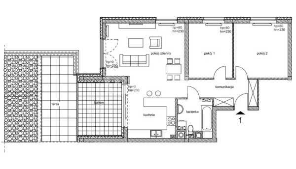 Mieszkanie trzypokojowe na sprzedaż Częstochowa, Parkitka, Grabówka, Bialska  73m2 Foto 3
