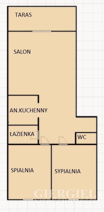 Mieszkanie trzypokojowe na sprzedaż Rzeszów, Staromieście, Lubelska  53m2 Foto 10