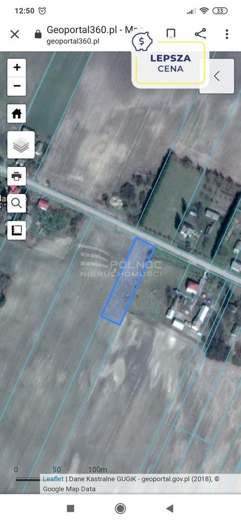 Działka budowlana na sprzedaż Nowy Folwark  2600m2 Foto 1