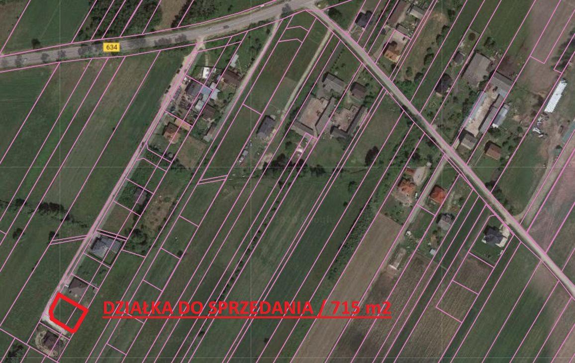 Działka budowlana na sprzedaż Klembów, KRZYWICA  715m2 Foto 1