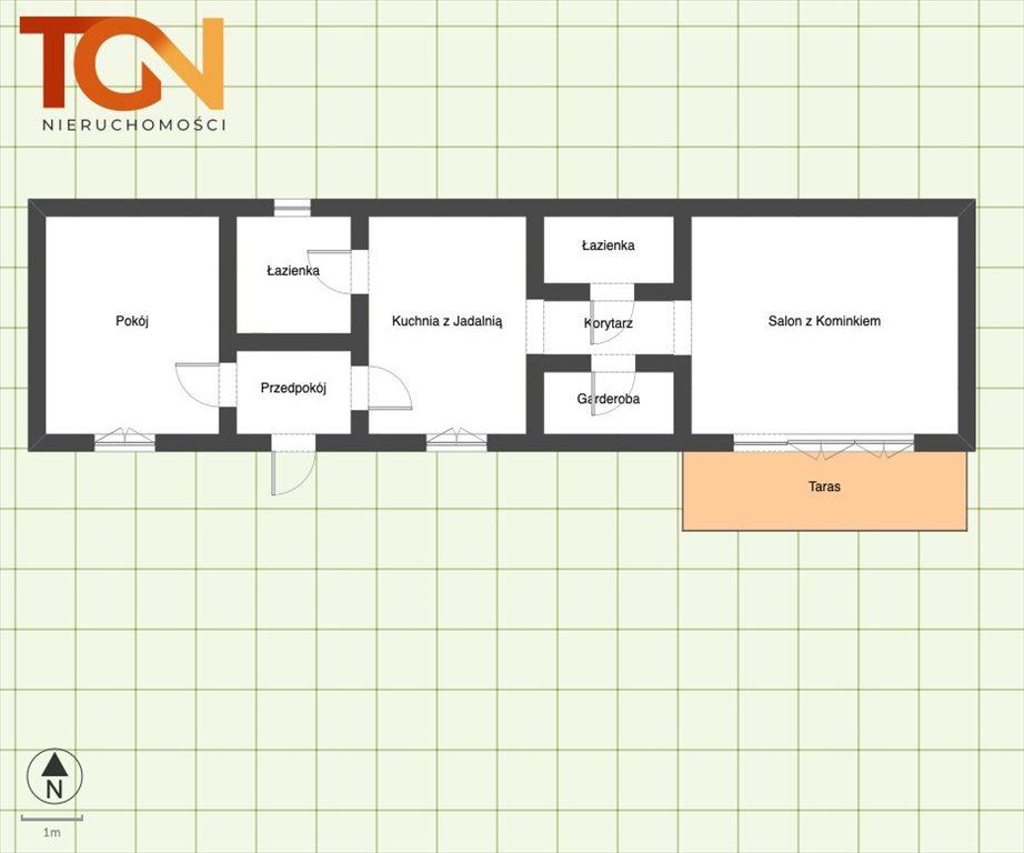 Dom na sprzedaż Dąbrowa  72m2 Foto 12