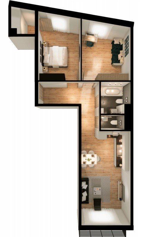 Mieszkanie trzypokojowe na sprzedaż Kraków, Prądnik Czerwony, Prądnik Czerwony, Promienistych  66m2 Foto 4