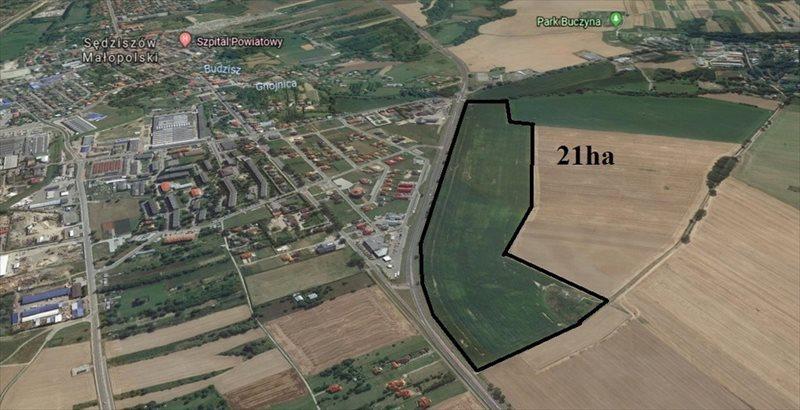Działka przemysłowo-handlowa na sprzedaż Sędziszów Małopolski, Rzeszowska  3000m2 Foto 4