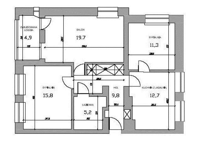 Mieszkanie trzypokojowe na sprzedaż Warszawa, Mokotów, Sadyba, Przy Bernardyńskiej Wodzie  75m2 Foto 15