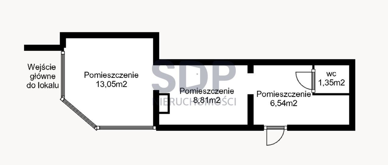 Lokal użytkowy na wynajem Wrocław, Stare Miasto, Stare Miasto, Grabiszyńska  30m2 Foto 2