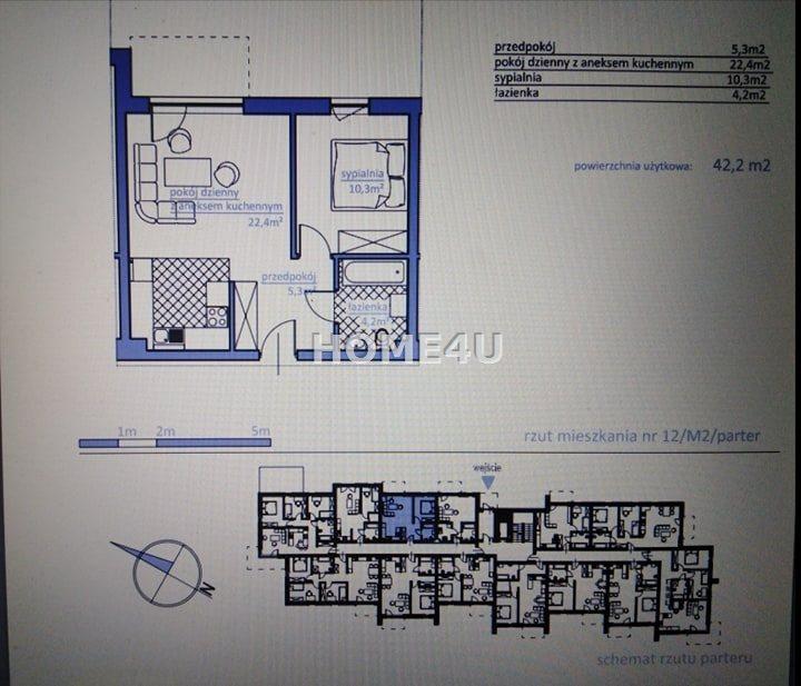 Mieszkanie trzypokojowe na sprzedaż Bielsko-Biała, Kamienica  59m2 Foto 6