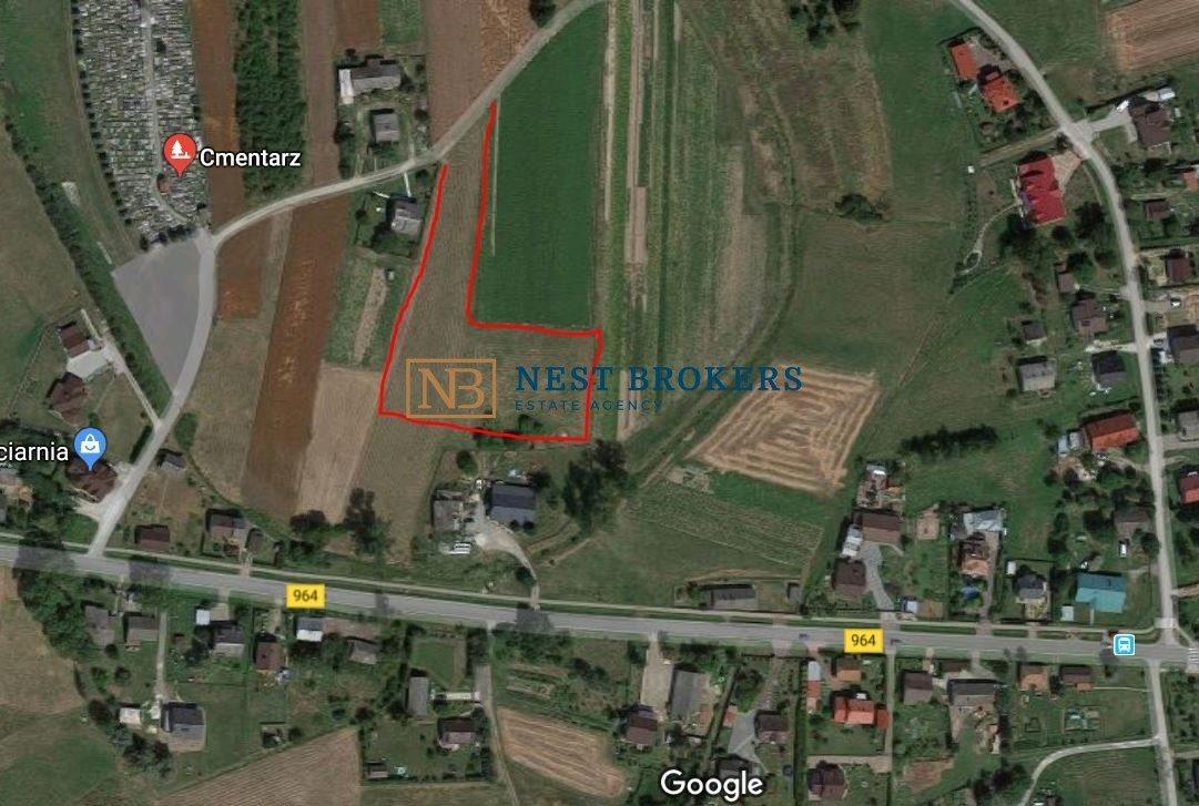 Działka budowlana na sprzedaż Wola Batorska  3647m2 Foto 2