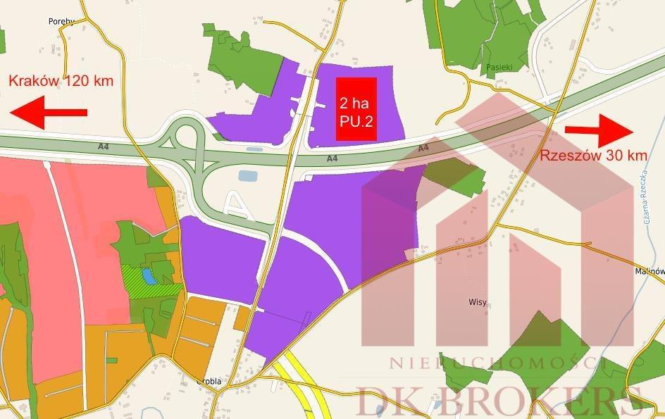 Działka przemysłowo-handlowa na sprzedaż Sędziszów Małopolski  20937m2 Foto 1