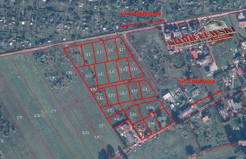 Działka budowlana na sprzedaż Koszalin, Działkowa  1007m2 Foto 1