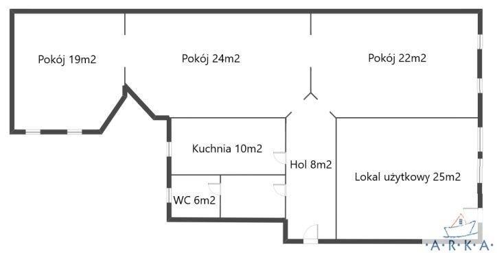 Mieszkanie trzypokojowe na sprzedaż Szczecin, Śródmieście-Centrum, al. Bohaterów Warszawy  86m2 Foto 1