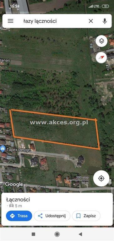 Działka budowlana na sprzedaż Łazy, Łazy, Agatowa  20800m2 Foto 1