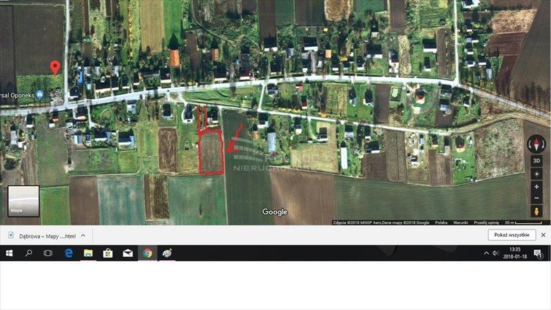 Działka budowlana na sprzedaż Dąbrowa  4200m2 Foto 1