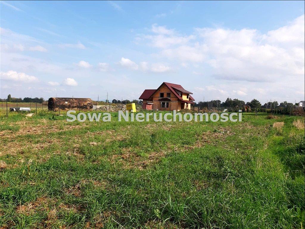 Działka budowlana na sprzedaż Świebodzice, Ciernie  950m2 Foto 2