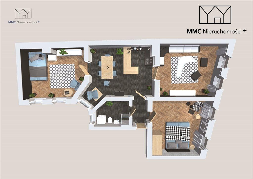Mieszkanie czteropokojowe  na sprzedaż Bytom, Centrum, Piłsudskiego Józefa  124m2 Foto 1
