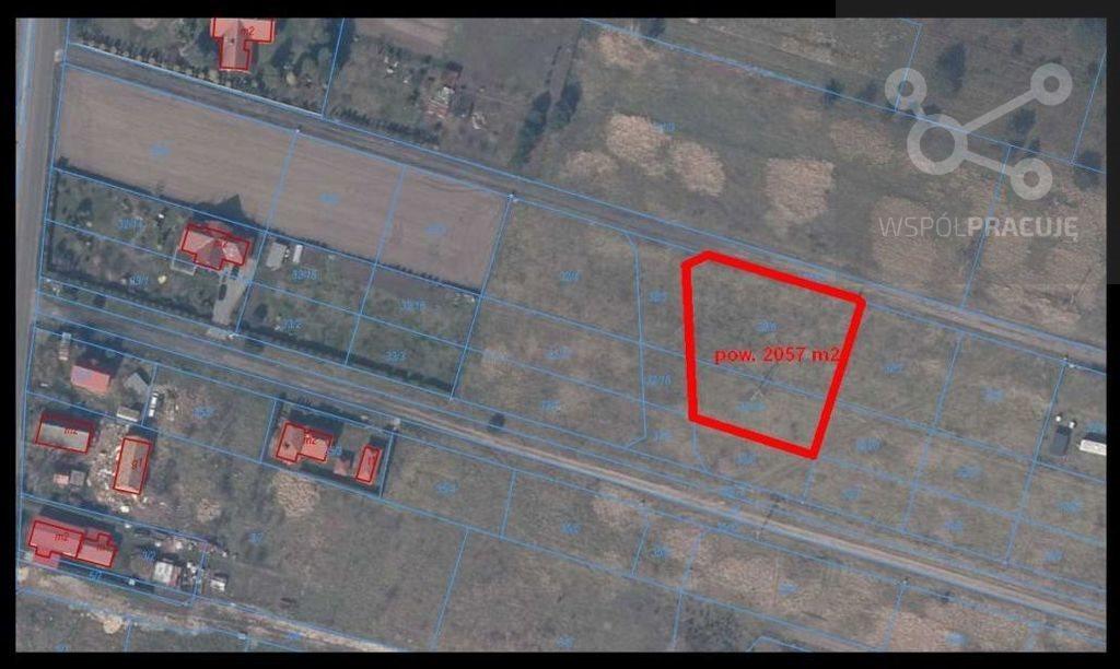 Działka budowlana na sprzedaż Rurzyca, Żytnia  2057m2 Foto 1