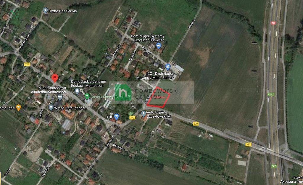 Działka budowlana na sprzedaż Mokronos Górny, Wrocławska  2384m2 Foto 12